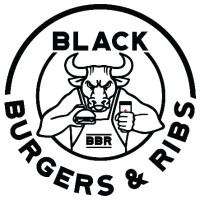 Black burger & Ribs